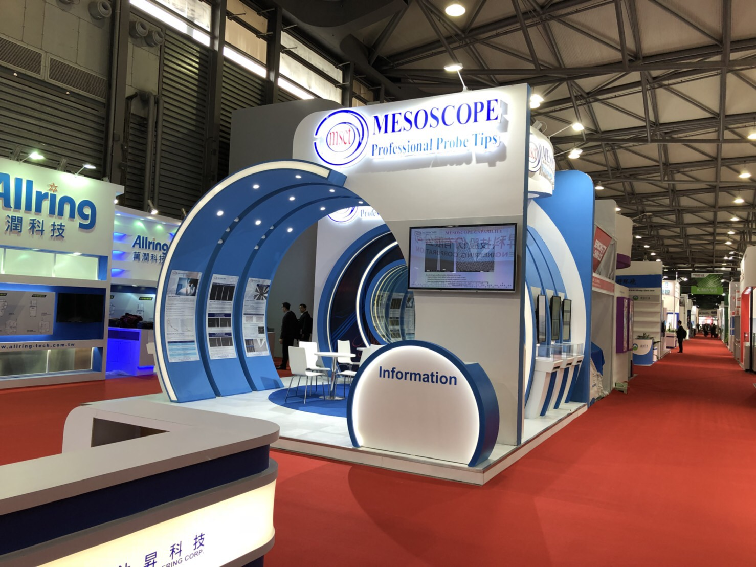 MESOSCOPE Attend 2018 Semicon China Exhibition