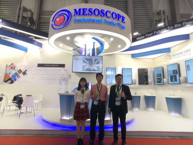 MESOSCOPE Attend 2019 Semicon China Exhibition